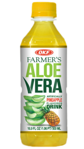 OKF Farmer's aloe vera pineapple 500ml