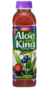 OkF Aloe vera king blueberry